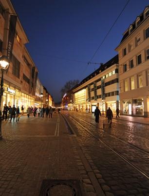 Freiburg City_Kaiser-Joseph Str_Blue Moment_mini