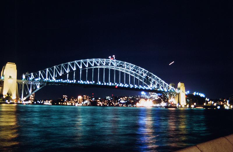 Sydney Harbour Bridge World Lighting Journey