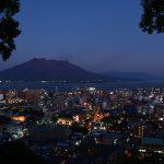 鹿児島市街地からの俯瞰夜景_2
