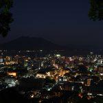 鹿児島市街地からの俯瞰夜景_3