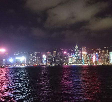 香港のビクトリアハーバー