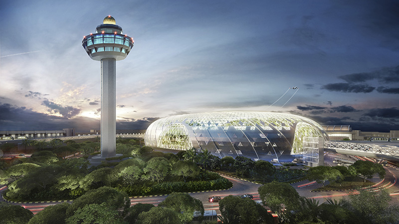 Image 1 - The new icon of Changi Airport