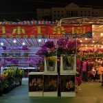 Flower Market at Victoria Park, Hong Kong