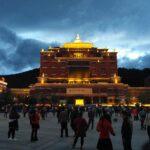 Tancheng Square in Shangri-La City