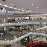 Christmas Illumination in Shopping Mall